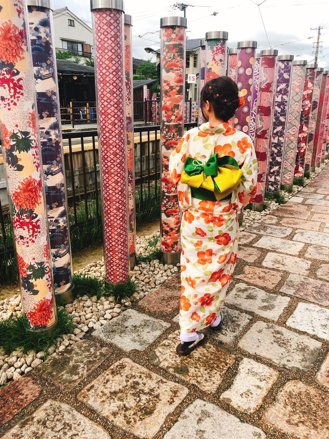 お盆休みに京都で浴衣レンタル2019年8月14日5