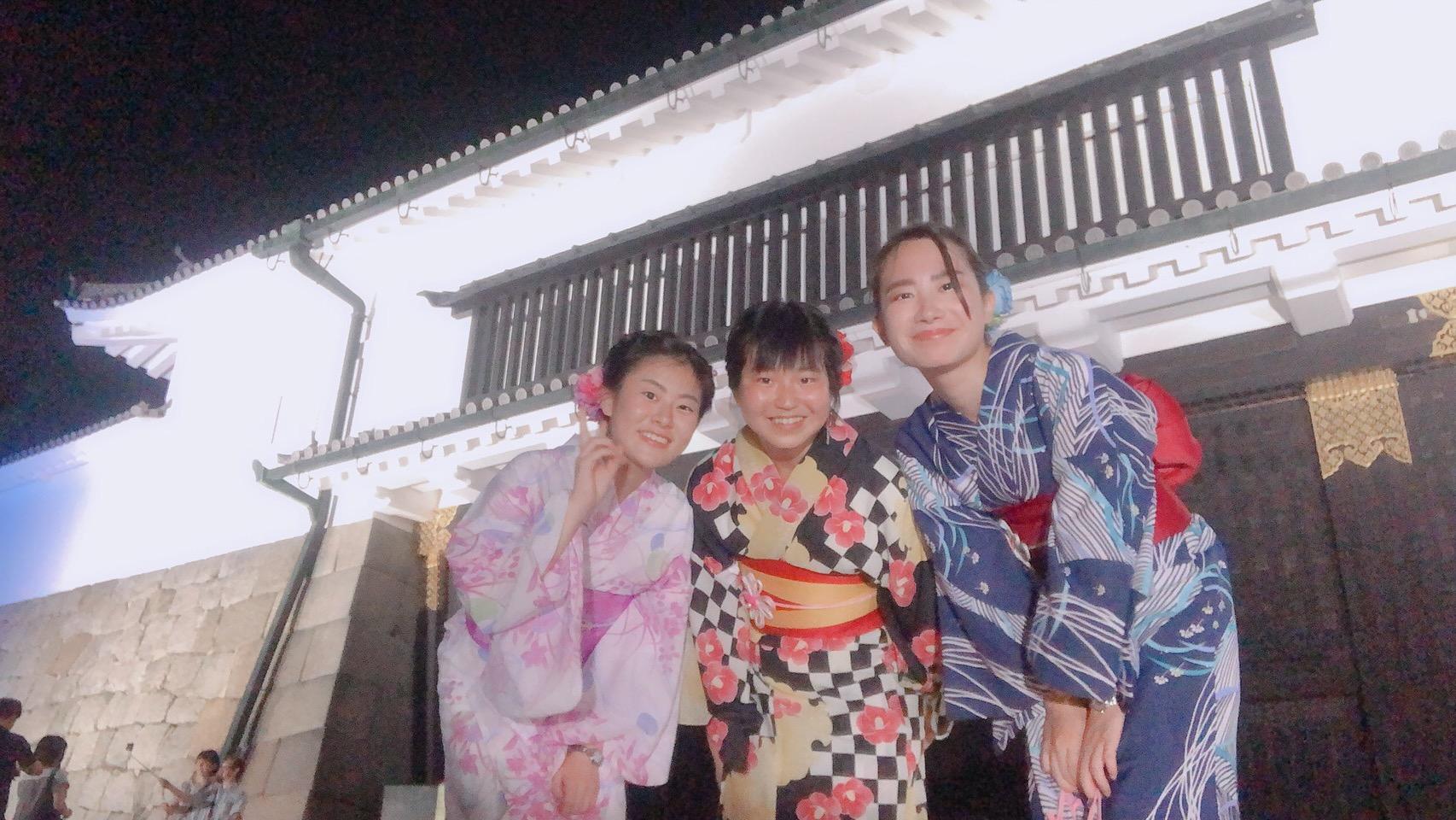 お盆休みに京都で浴衣レンタル2019年8月14日12