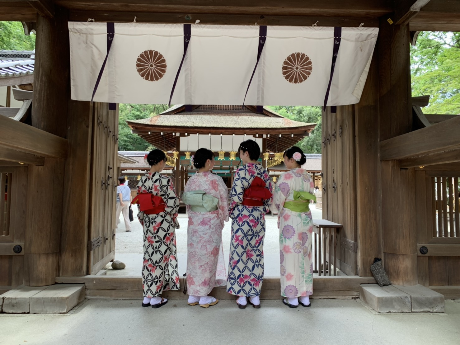 カップルで二条城「京の七夕」2019年8月6日6