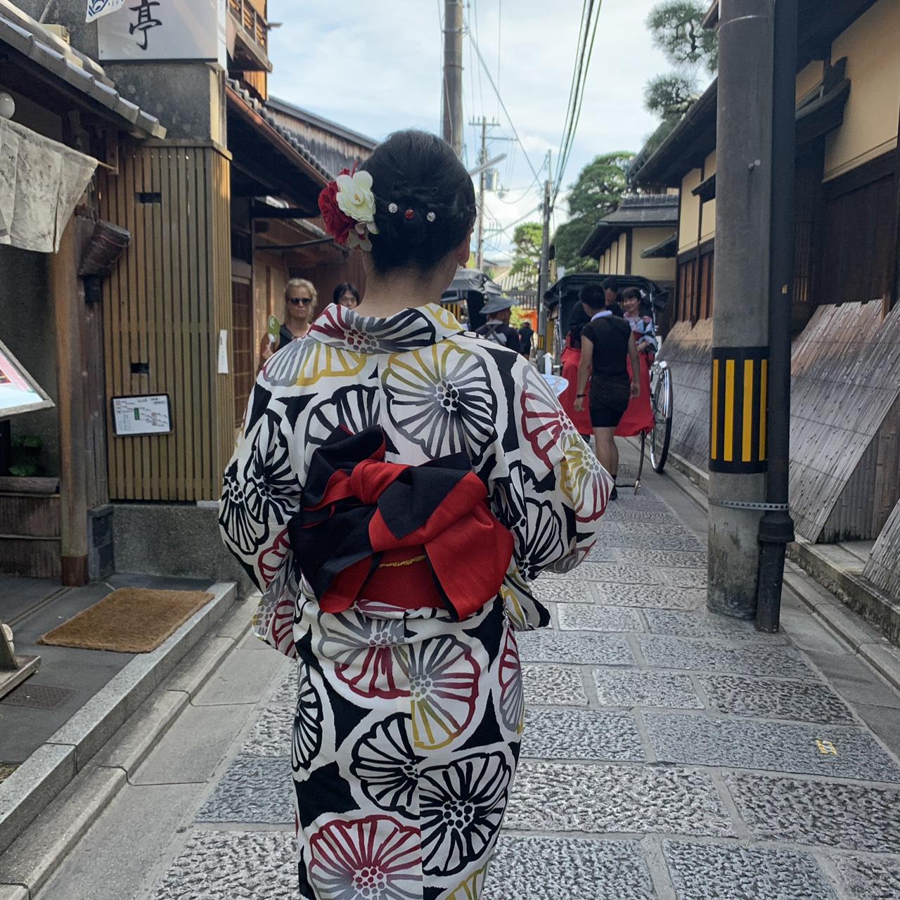夏休みに京都で浴衣レンタル♪2019年8月12日6