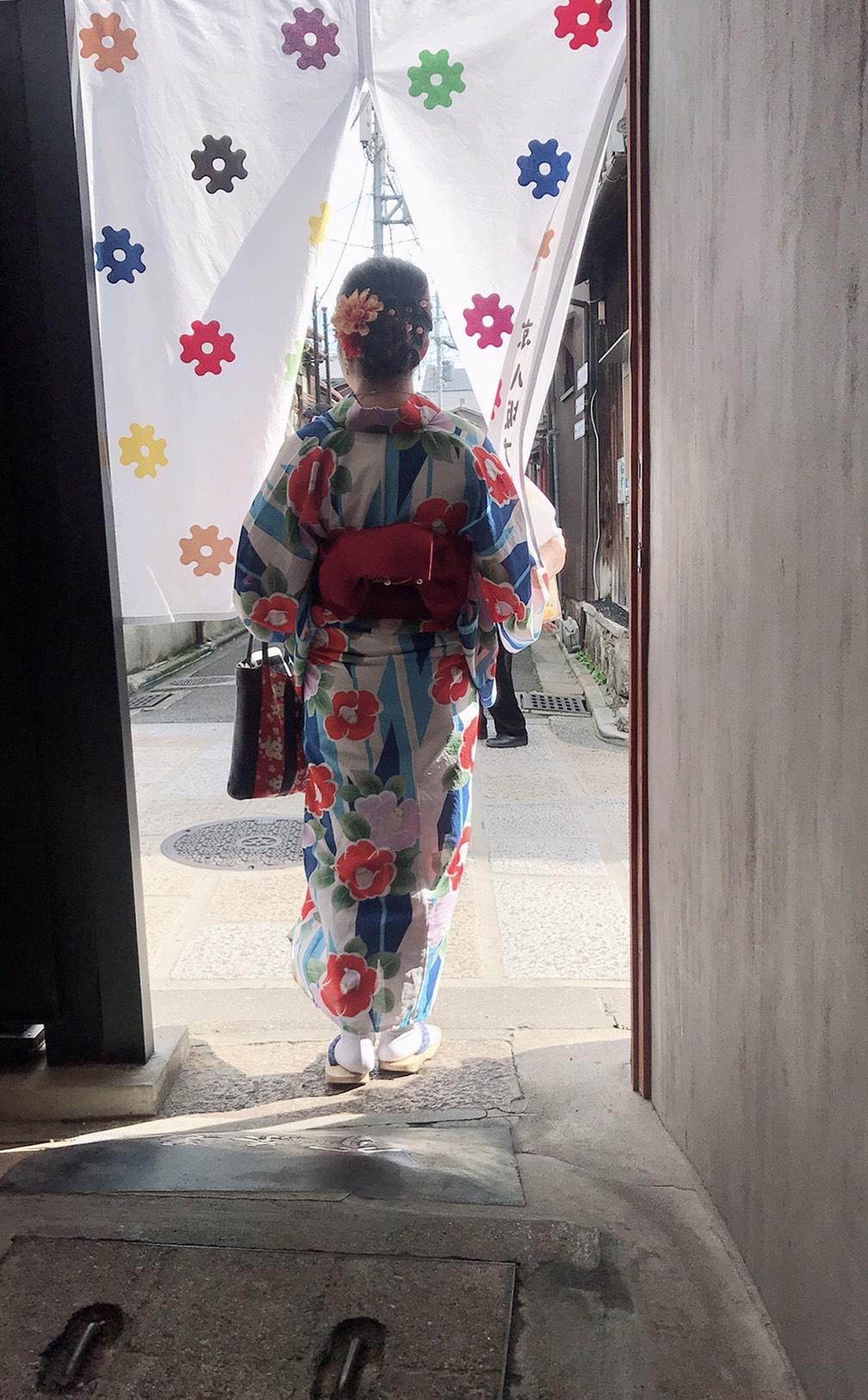 浴衣で京都を散策♪2019年8月29日4