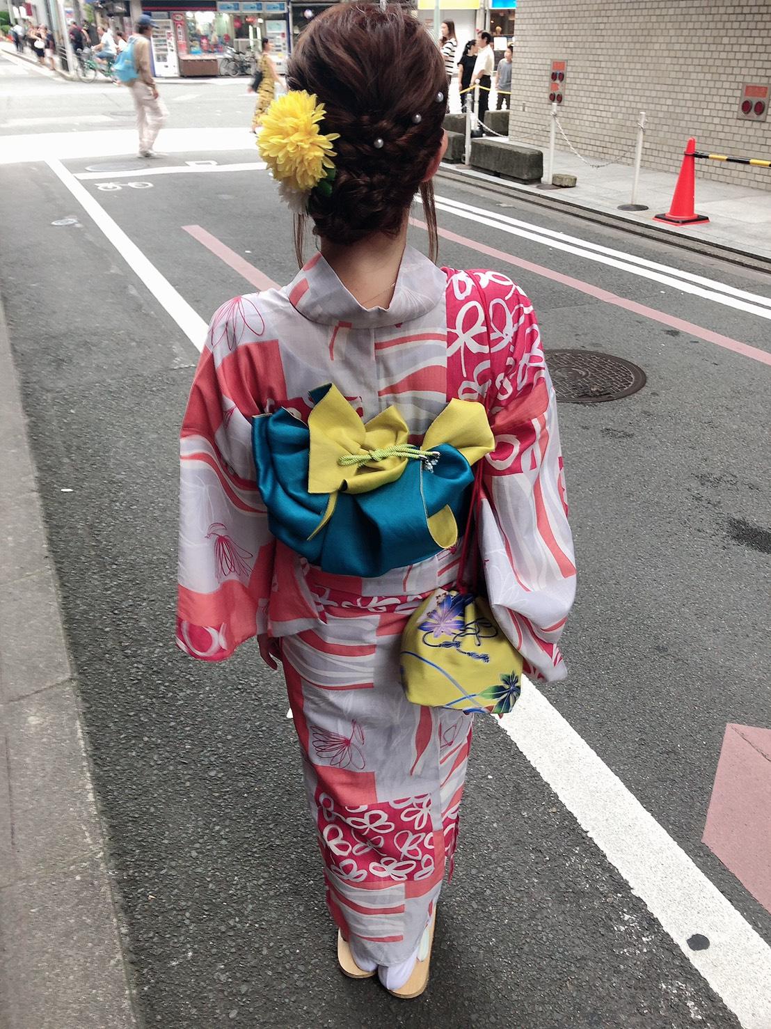 浴衣で京都を散策♪2019年8月29日6