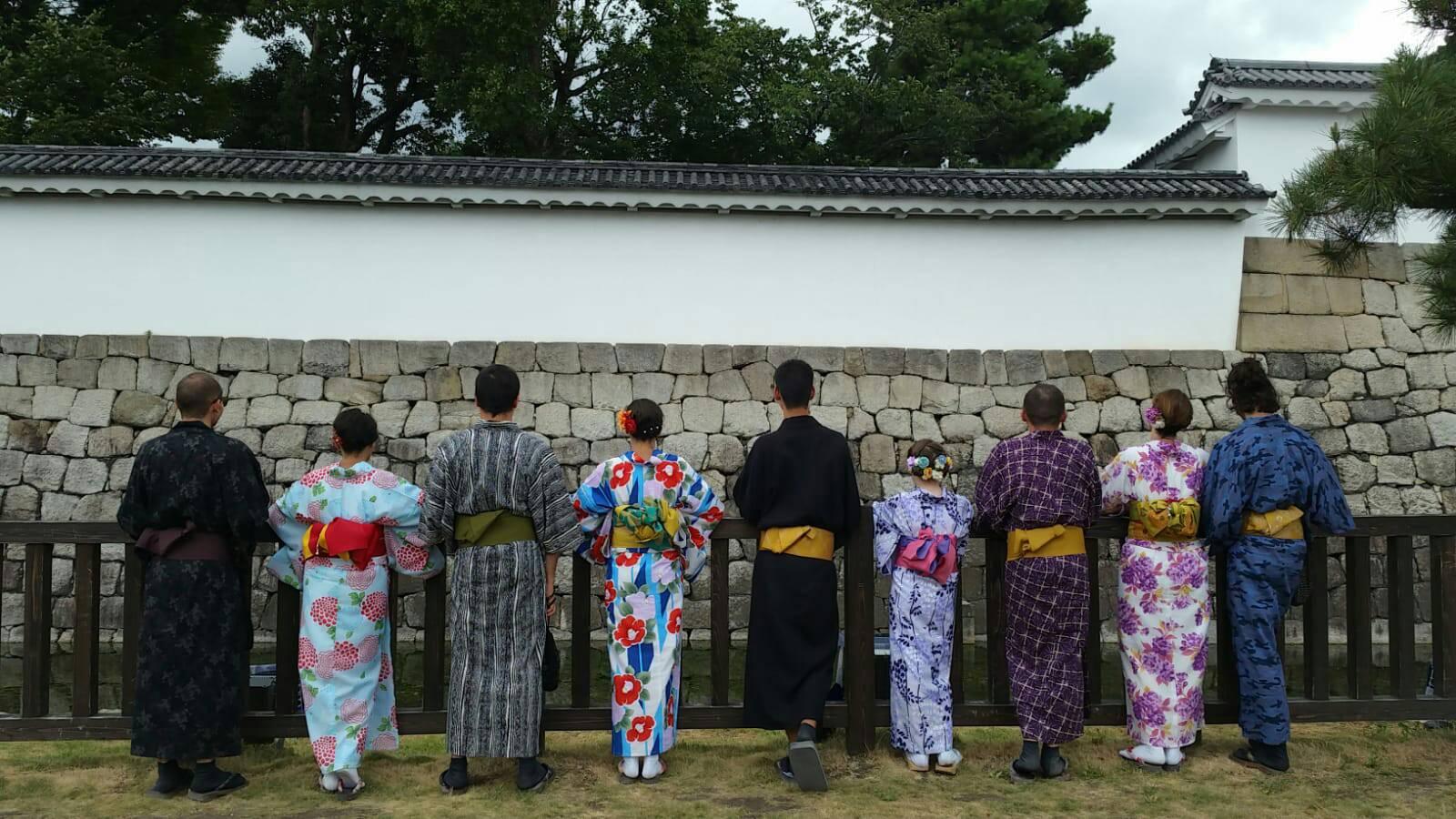 お盆休みに京都で浴衣レンタル2019年8月14日4
