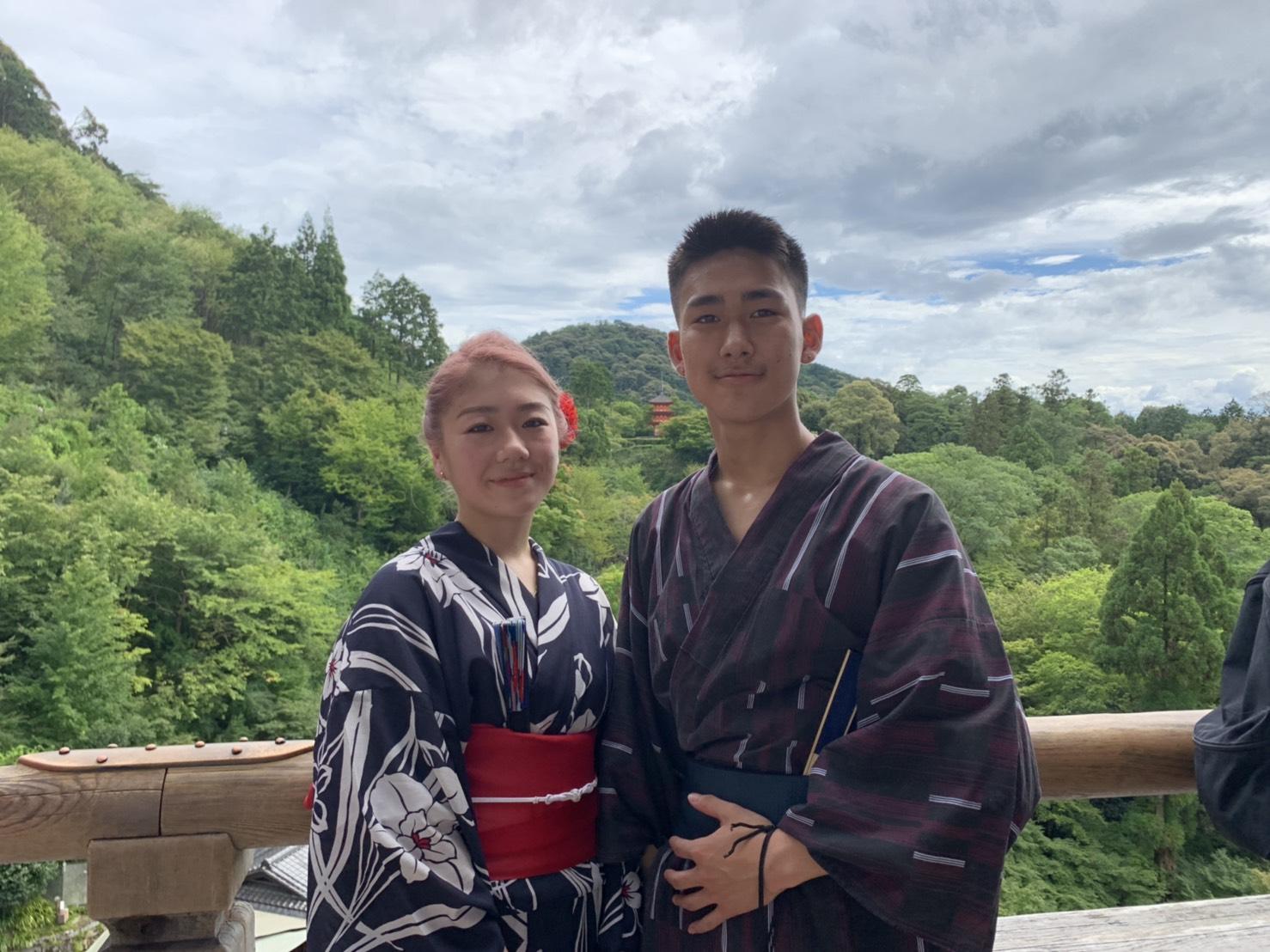 カップルで二条城「京の七夕」2019年8月6日2