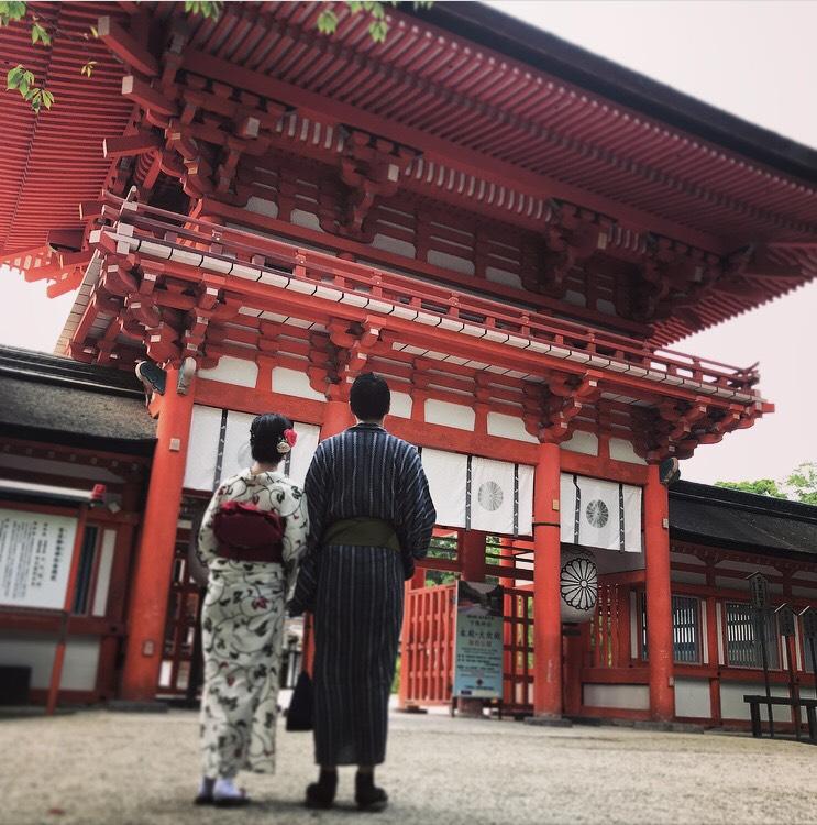 下鴨神社 糺ノ森でゆったりと♡2019年8月9日9