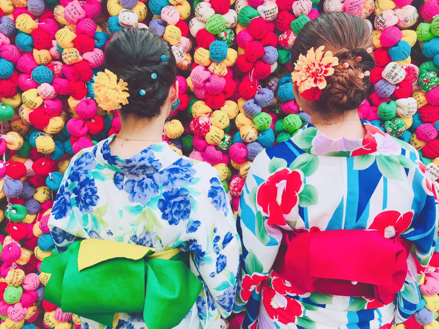 浴衣で京都を散策♪2019年8月29日3