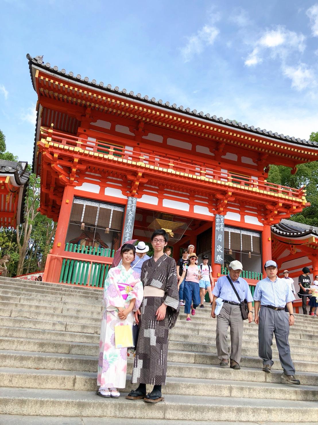 夏休みに京都で浴衣レンタル♪2019年8月12日11