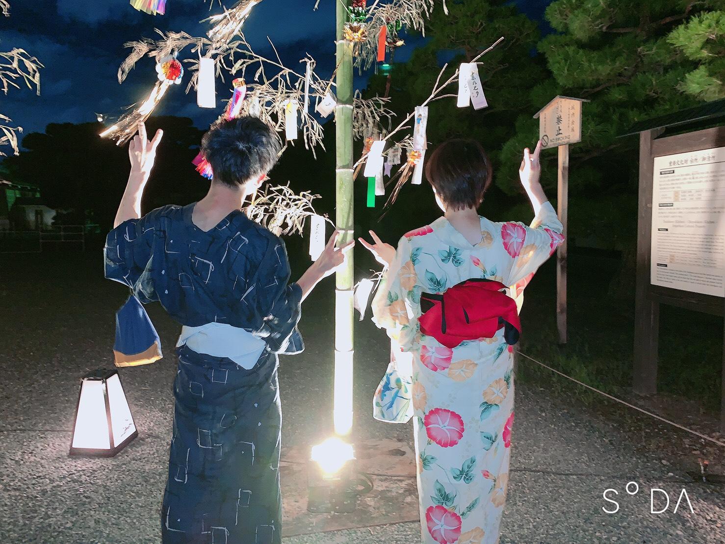 夏休みに京都で浴衣レンタル♪2019年8月12日15