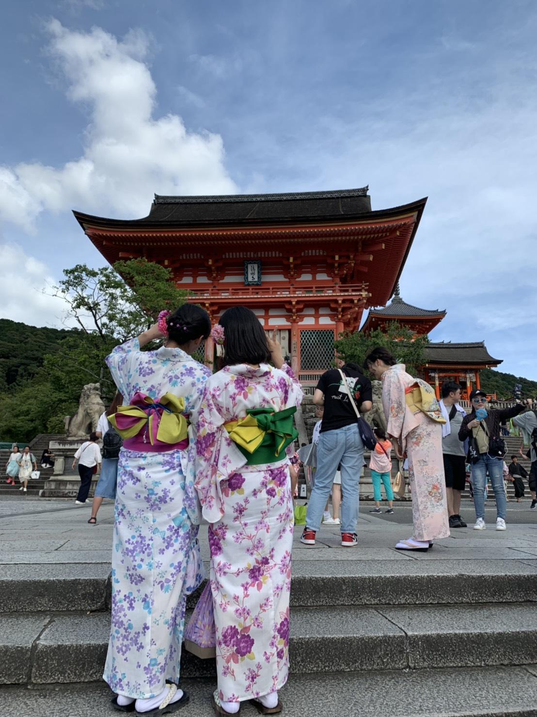 夏休みに京都で浴衣レンタル♪2019年8月12日4