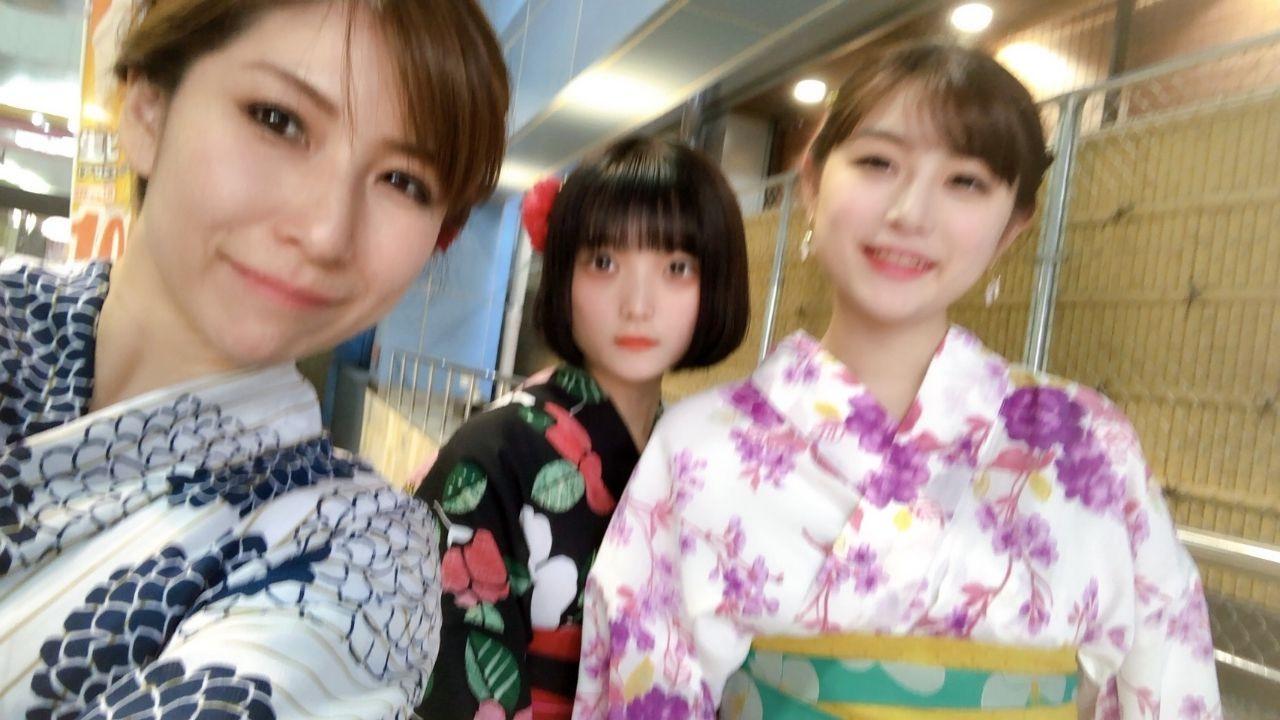 夏休みに京都で浴衣レンタル♪2019年8月12日1