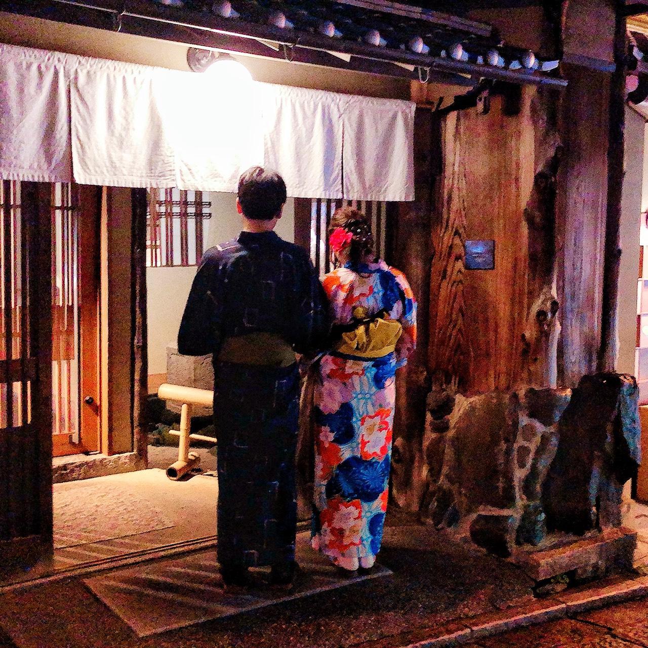浴衣で京都を散策♪2019年8月29日5