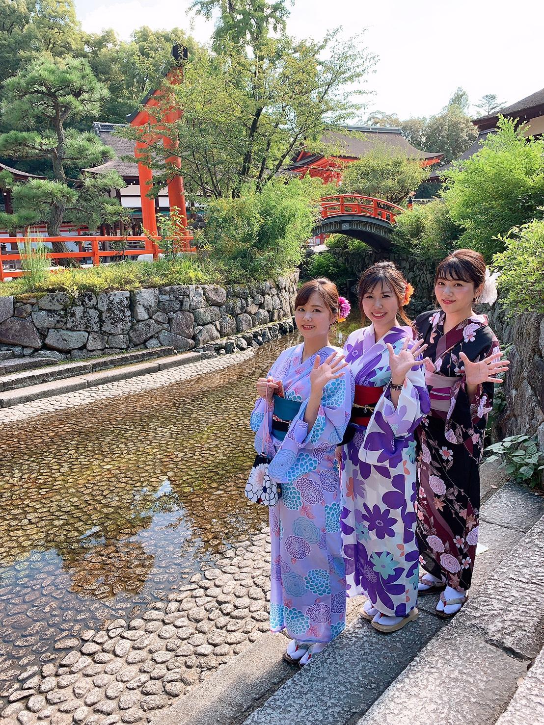 青森から下鴨神社へ♡2019年9月6日5