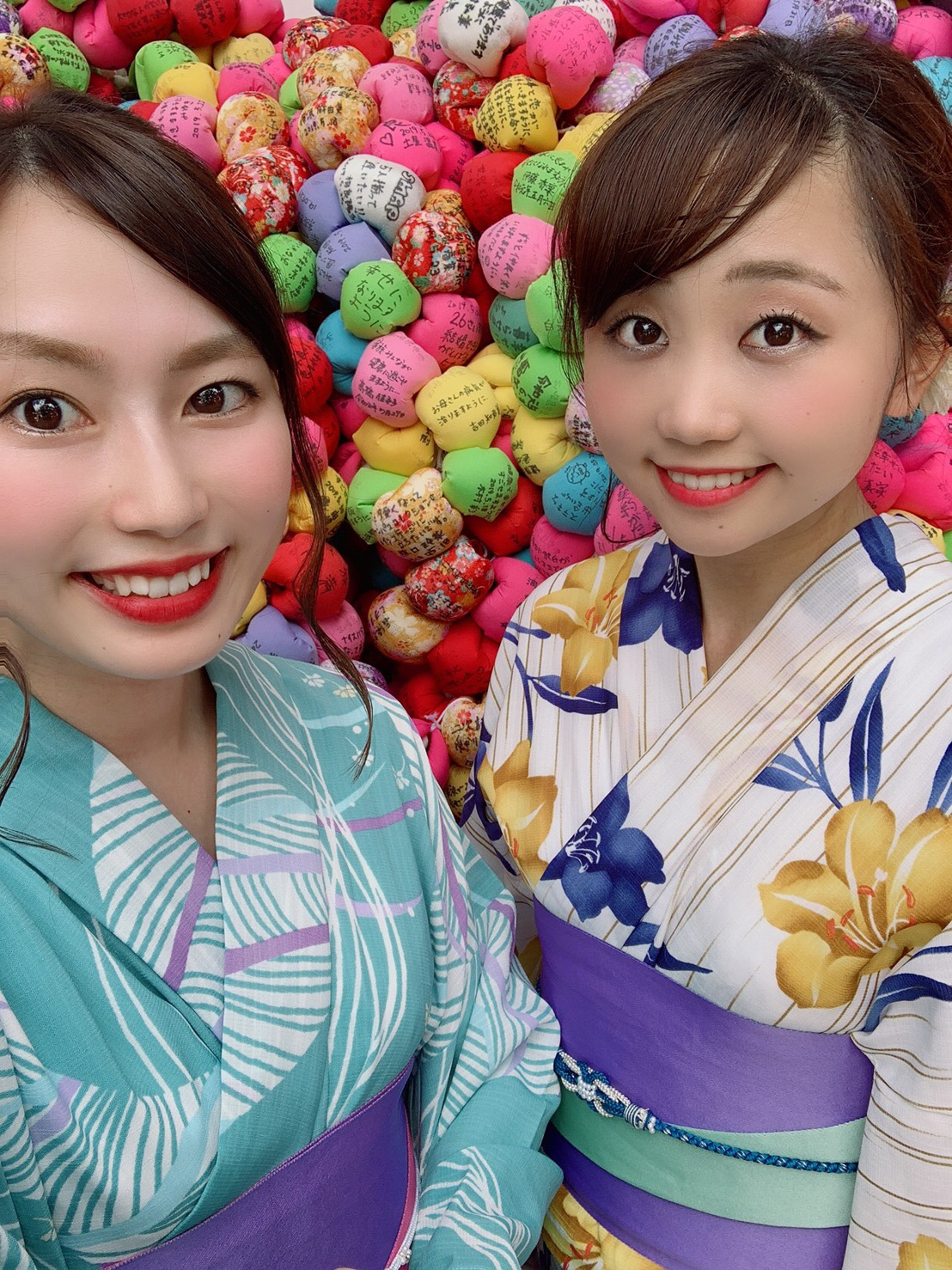 浴衣で人気の八坂庚申堂へ2019年9月9日1