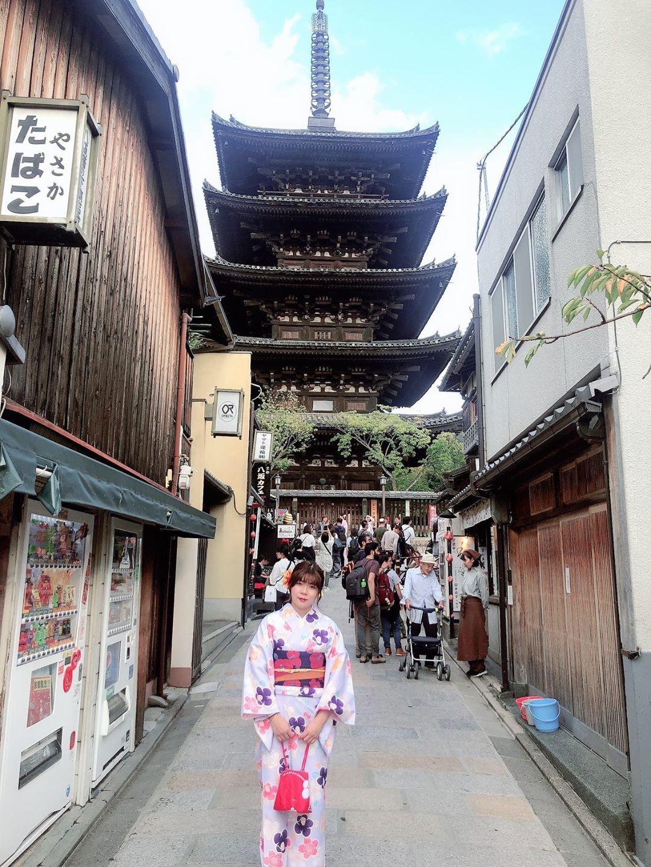 社員旅行♪京都で着物レンタル2019年10月22日3