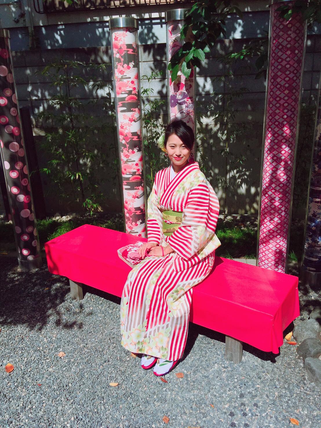 嵐山で着物デート♡2019年10月7日1