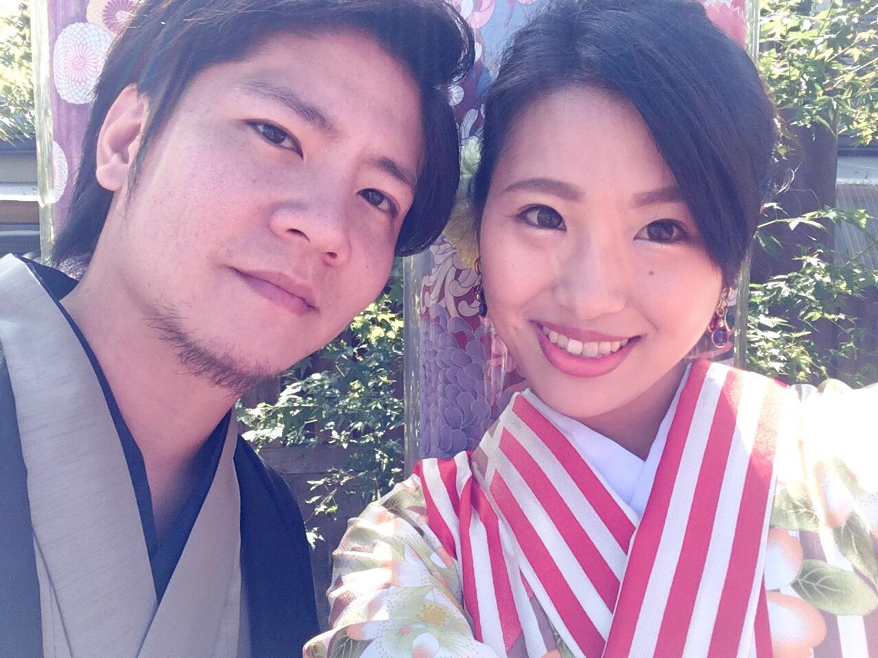 嵐山で着物デート♡2019年10月7日6