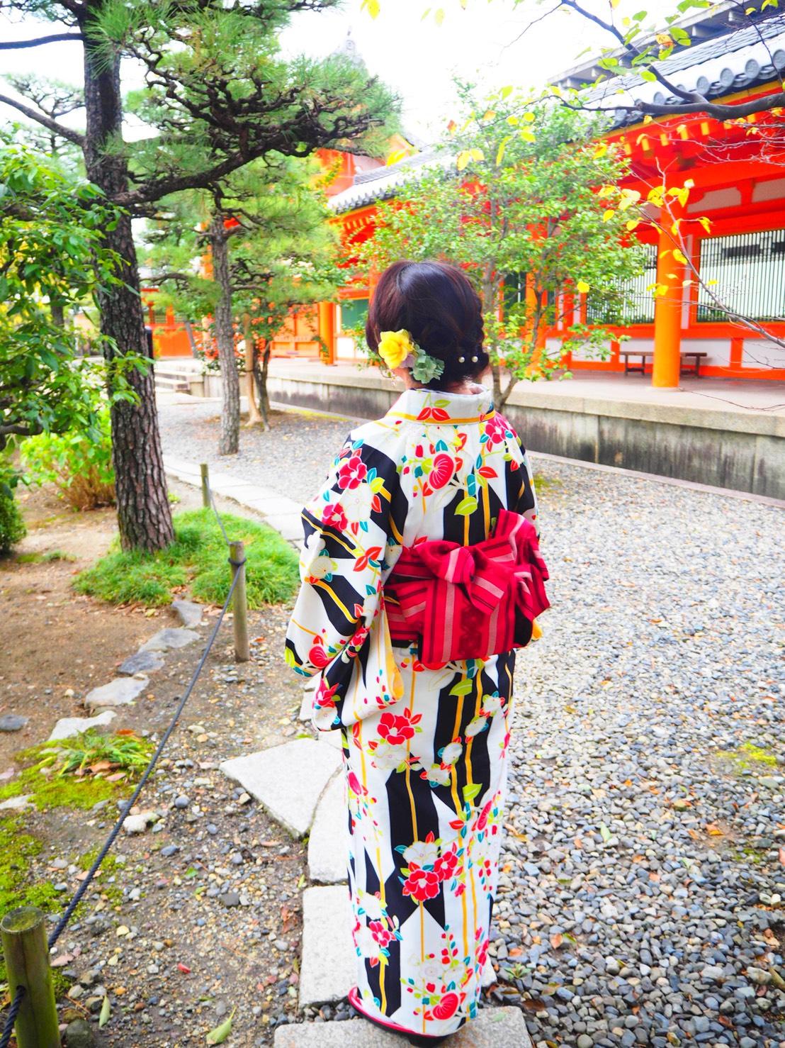 銀婚式で銀閣寺へ2019年10月23日5