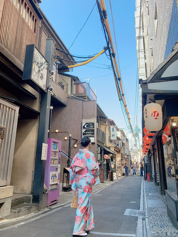 嵐山で着物デート♡2019年10月7日8