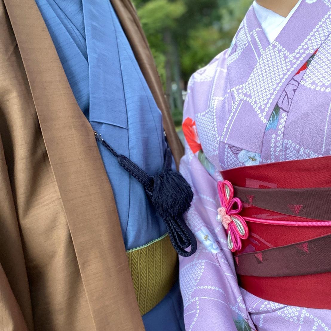 着物カップルで秋の京都を散策♡2019年10月8日1