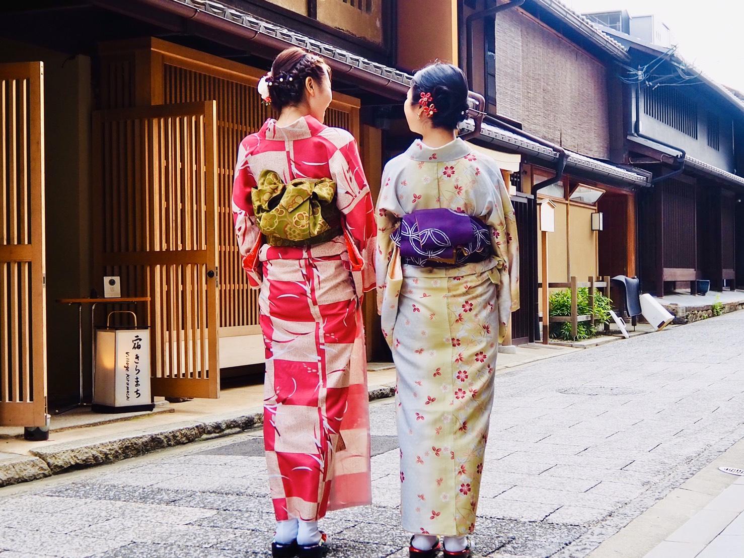 社員旅行♪京都で着物レンタル2019年10月22日1