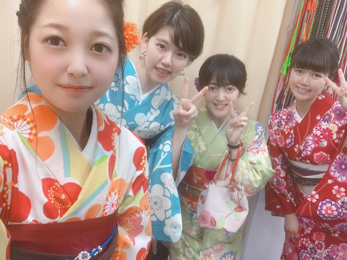 社員旅行♪京都で着物レンタル2019年10月22日9