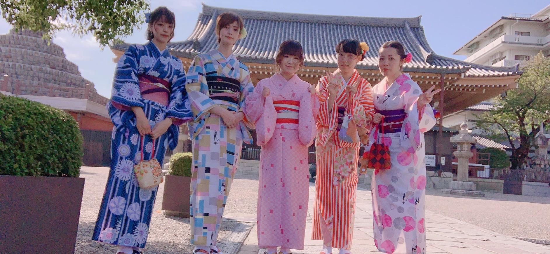 着物レンタルで壬生寺へ2019年10年5日3