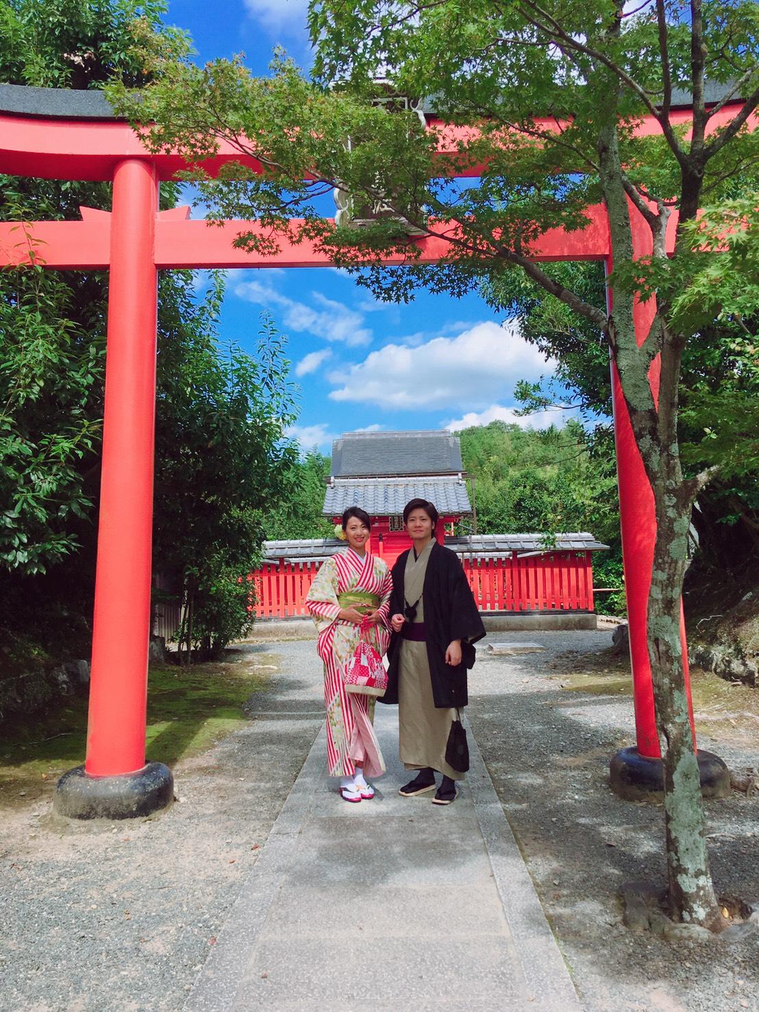 嵐山で着物デート♡2019年10月7日10
