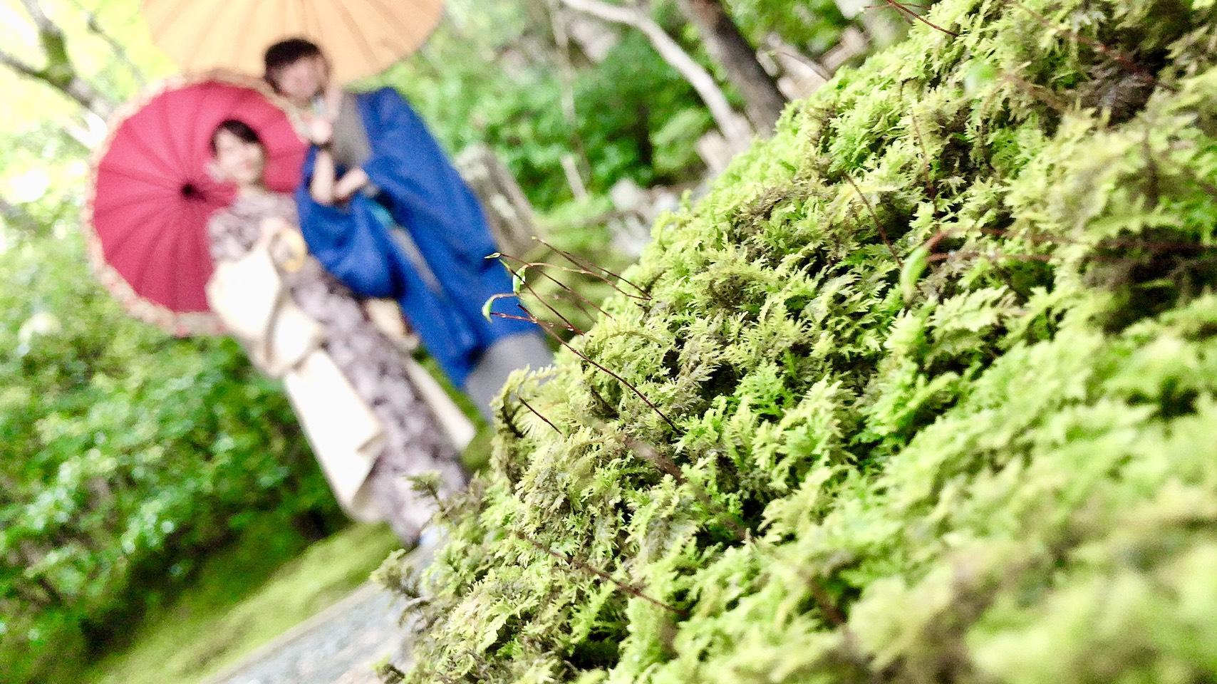 着物カップルで秋の京都を散策♡2019年10月8日5