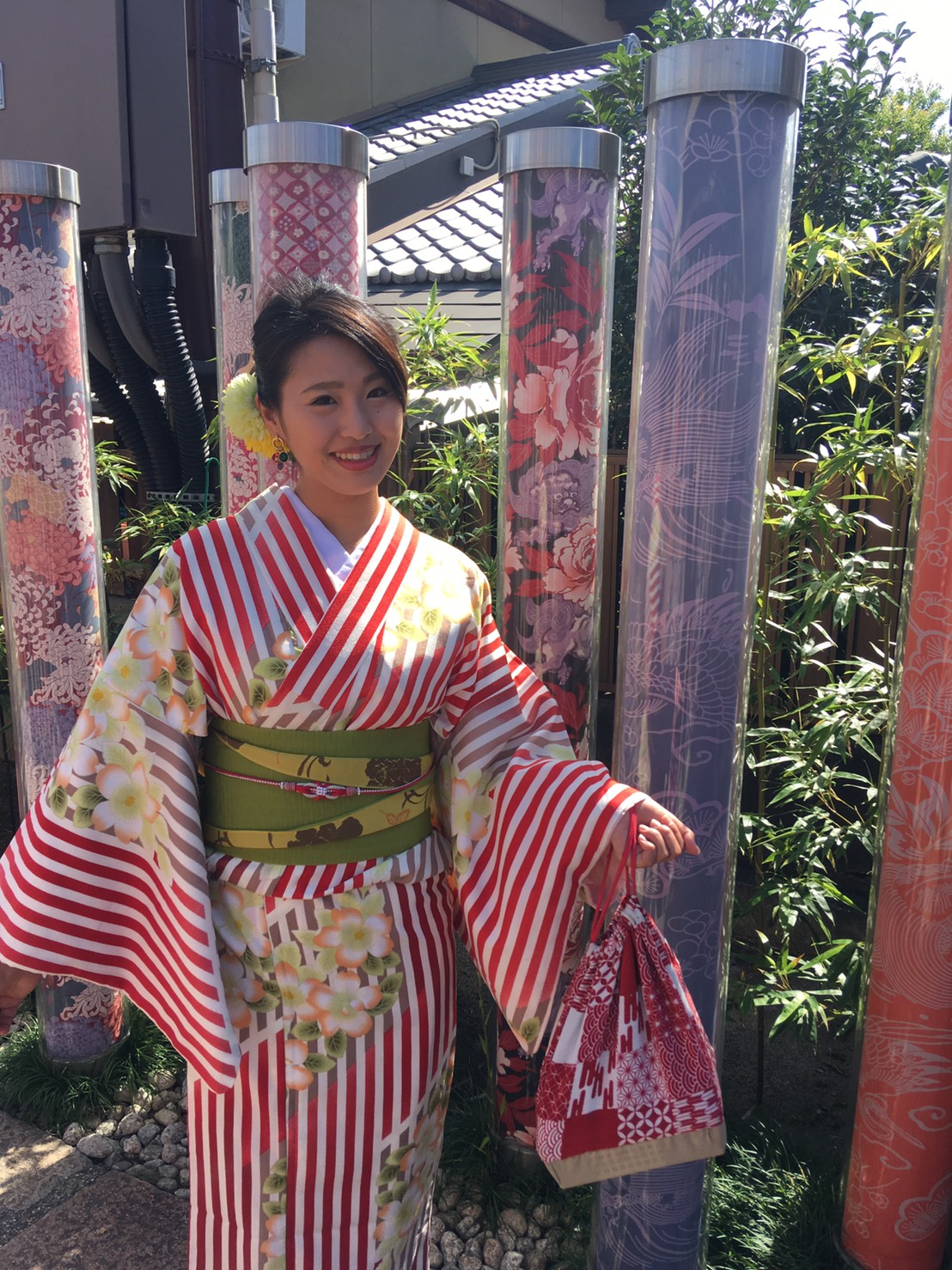 嵐山で着物デート♡2019年10月7日4