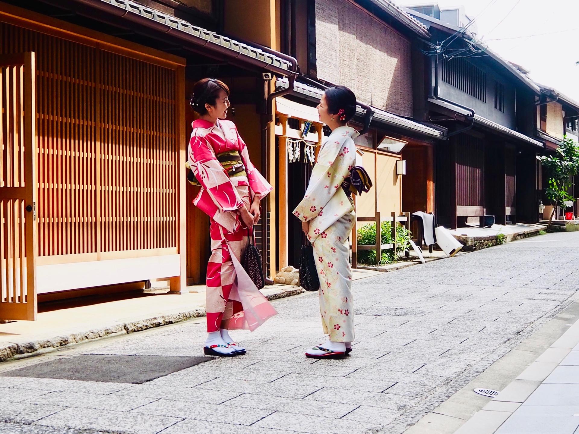 社員旅行♪京都で着物レンタル2019年10月22日2