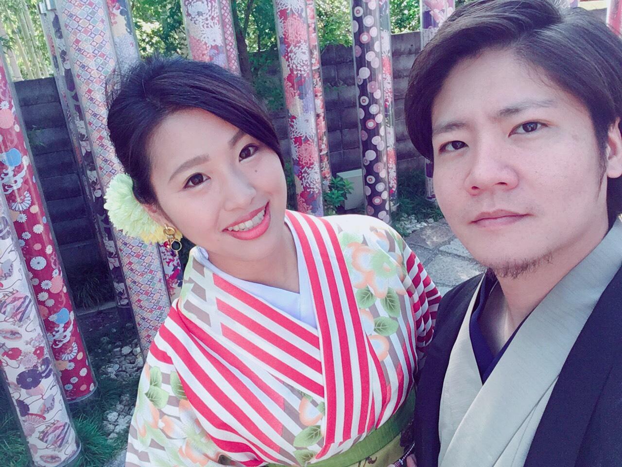 嵐山で着物デート♡2019年10月7日2