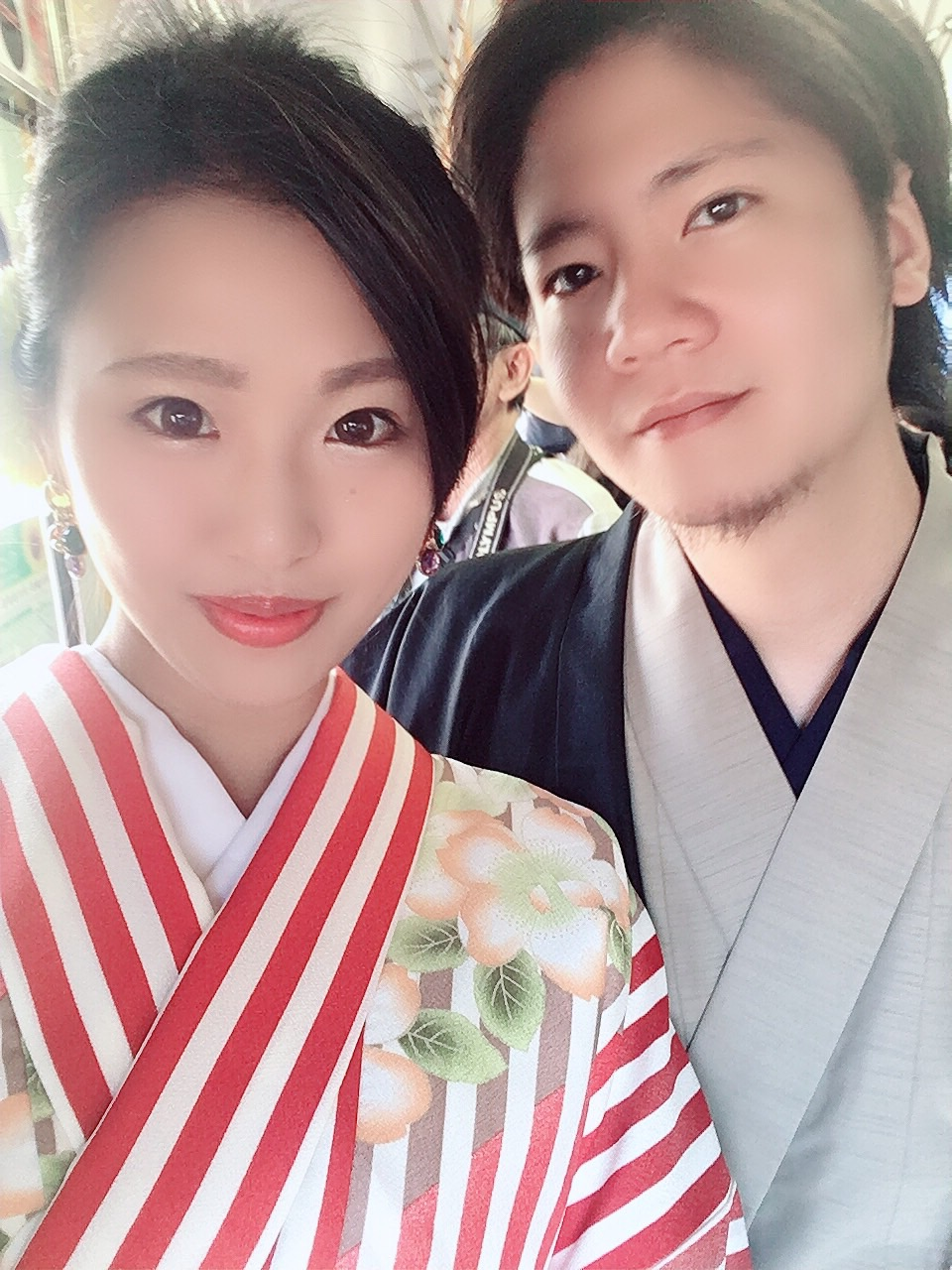 嵐山で着物デート♡2019年10月7日5