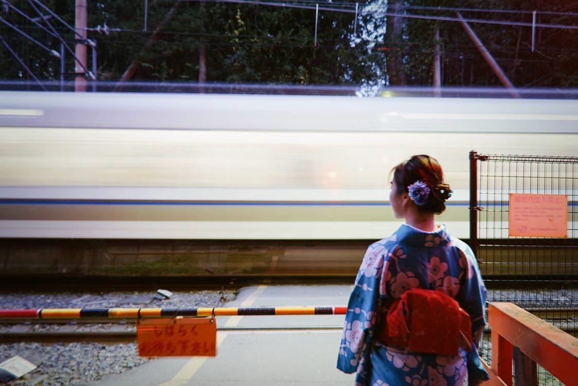 中国から着物で京都嵐山へ♪2019年11月9日14