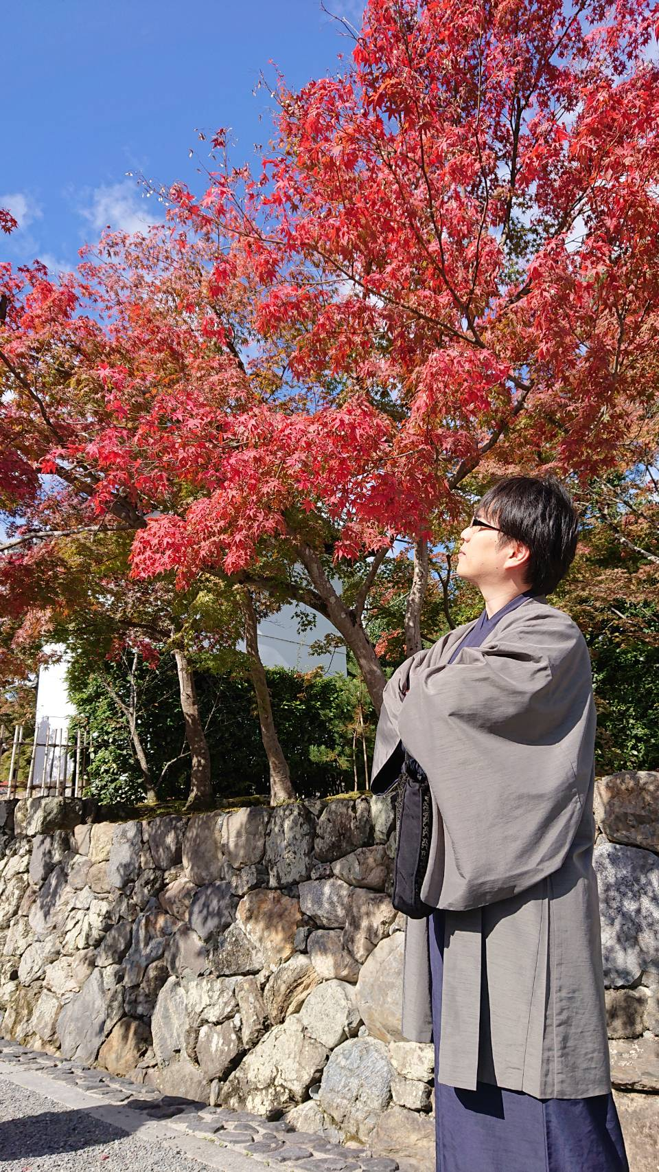 南禅寺も紅葉少しずつ赤くなってます♡2019年11月15日1