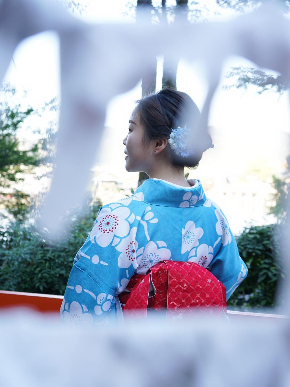 中国から着物で京都嵐山へ♪2019年11月9日13