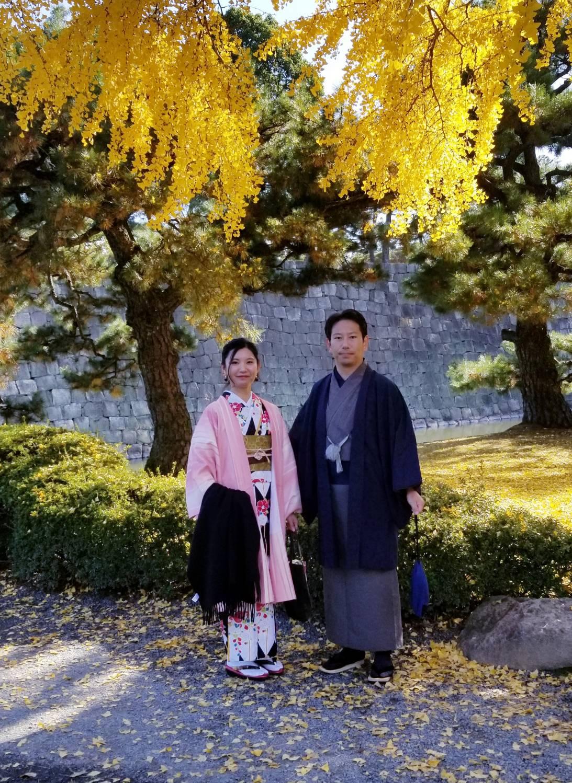 南禅寺と紅葉と夕陽2019年11月29日1
