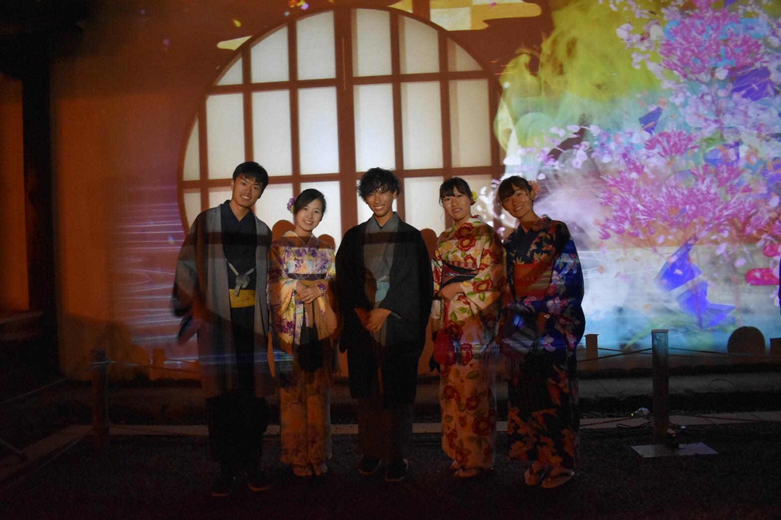 FLOWERS BY NAKED 2019 京都・二条城 大人気2019年11月17日11
