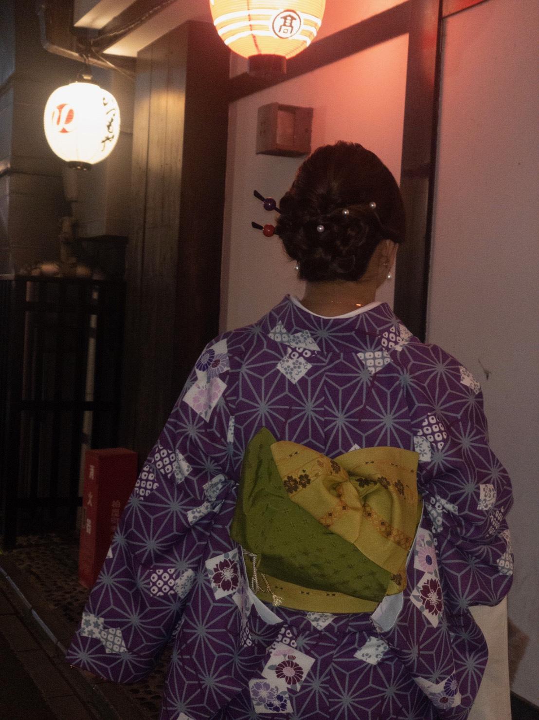 リピーター様❣清水寺ライトアップへ2019年11月21日9