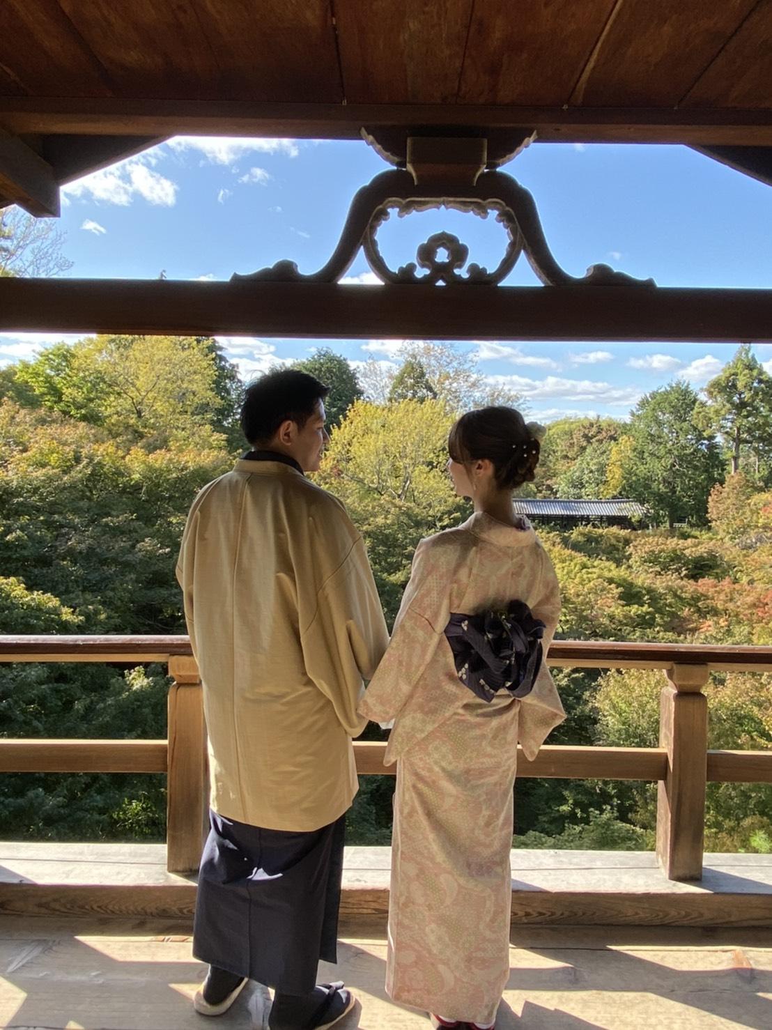 夜まで嵐山を満喫♪2019年11月4日1