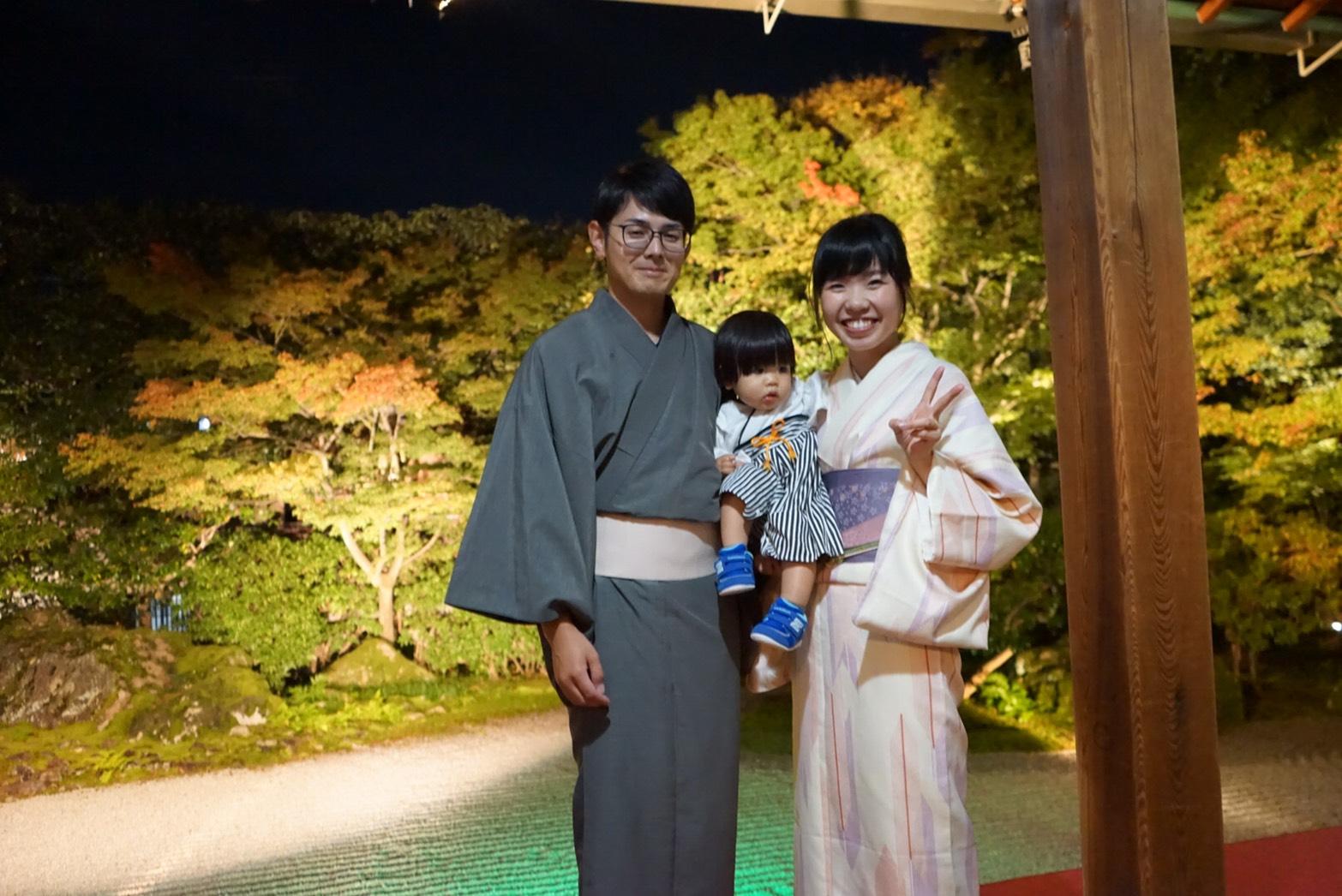 中国から着物で京都嵐山へ♪2019年11月9日12