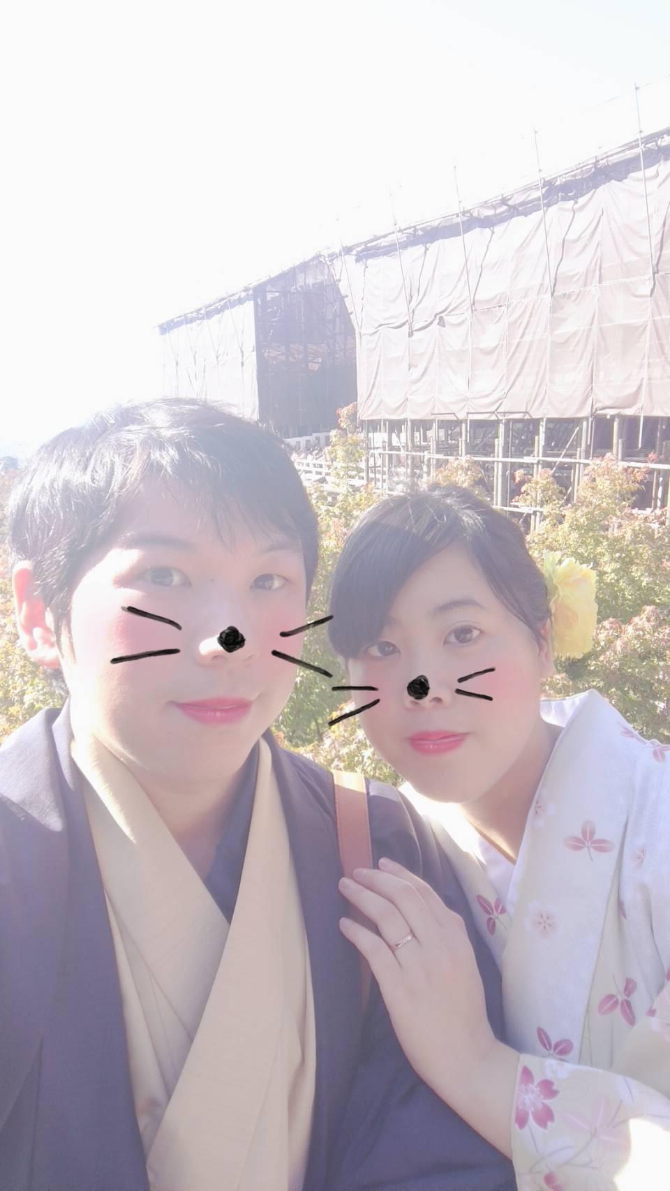 カップルで清水寺へ♡2019年11月6日2