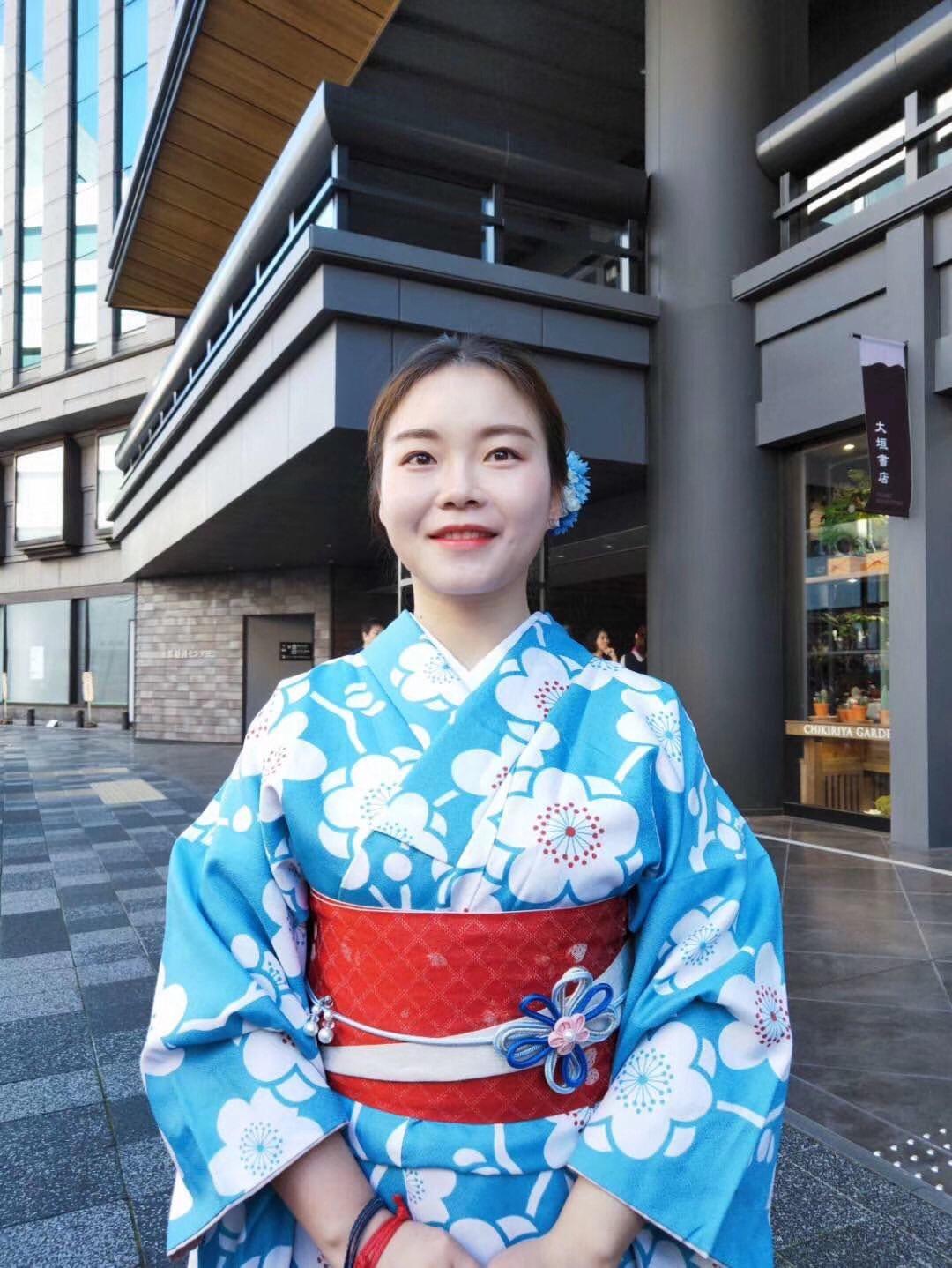 中国から着物で京都嵐山へ♪2019年11月9日6