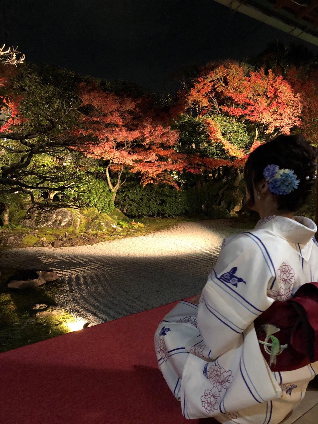 カップルで紅葉巡り♡2019年11月27日19