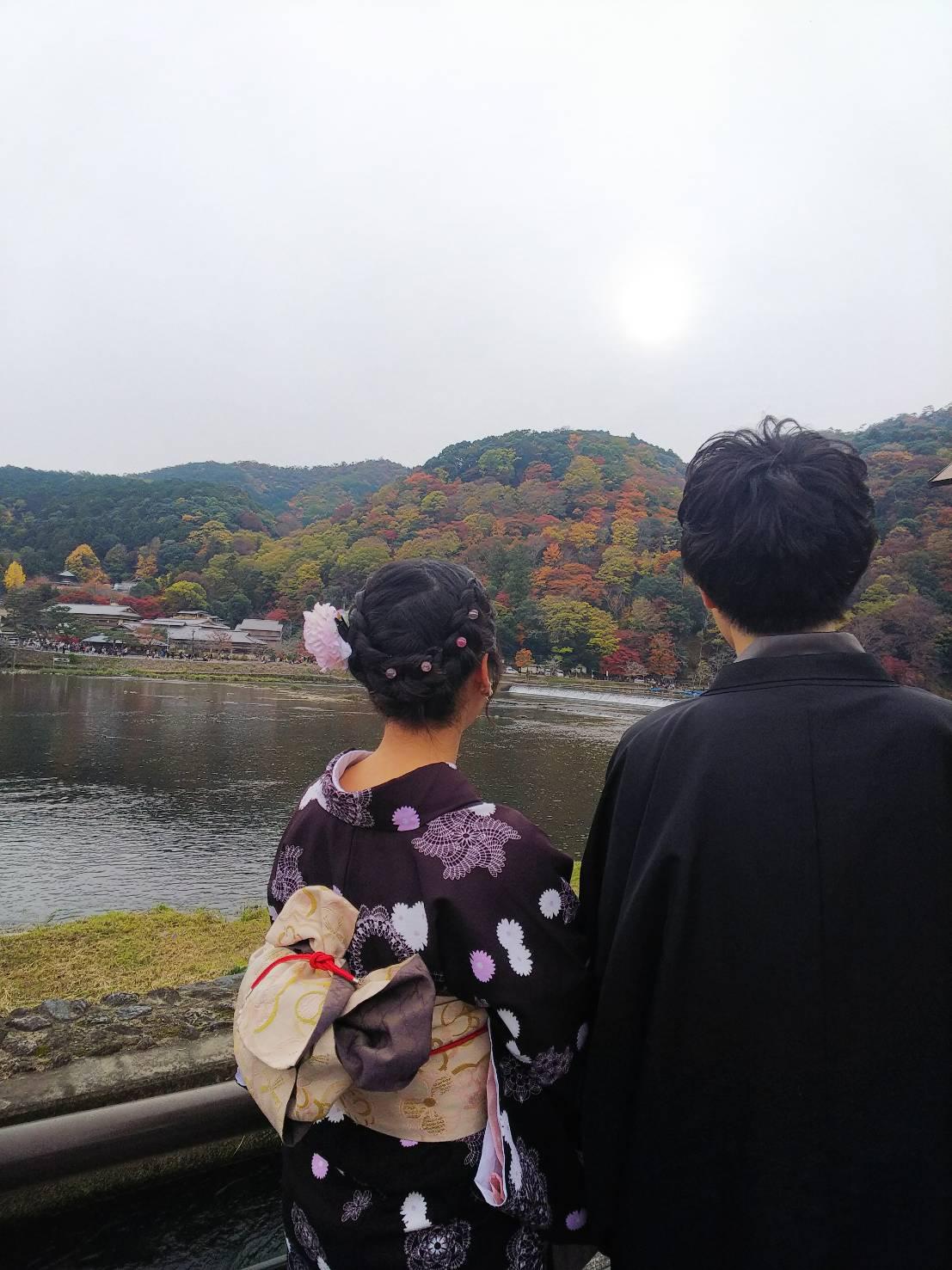 京都は紅葉見頃で~す2019年11月24日10