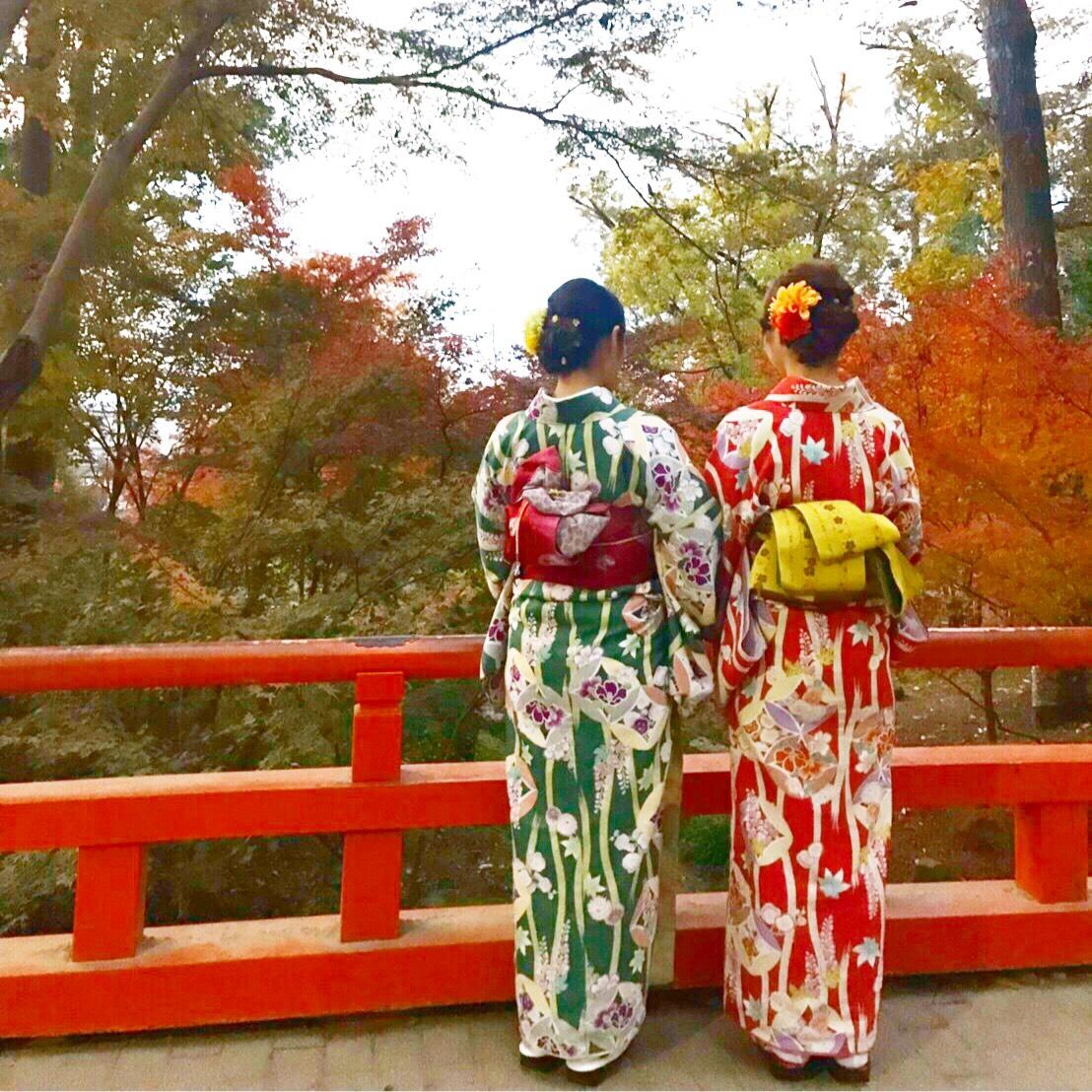 カップルで紅葉巡り♡2019年11月27日11