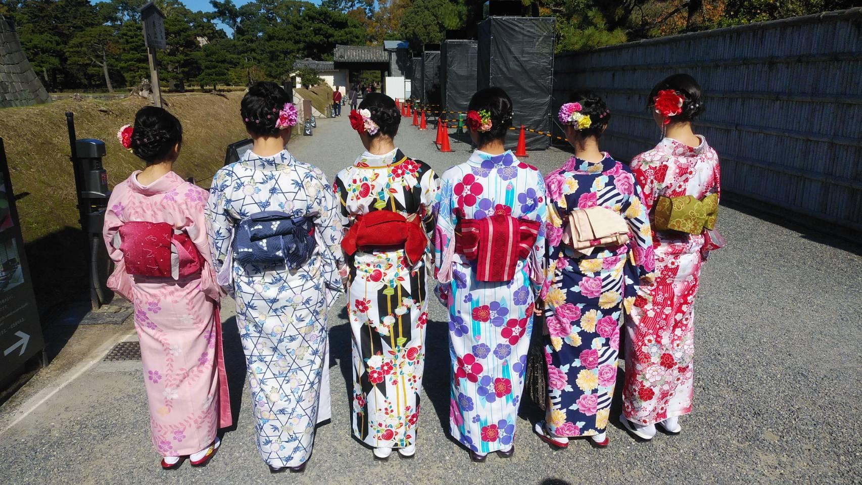 カップルで清水寺へ♡2019年11月6日1