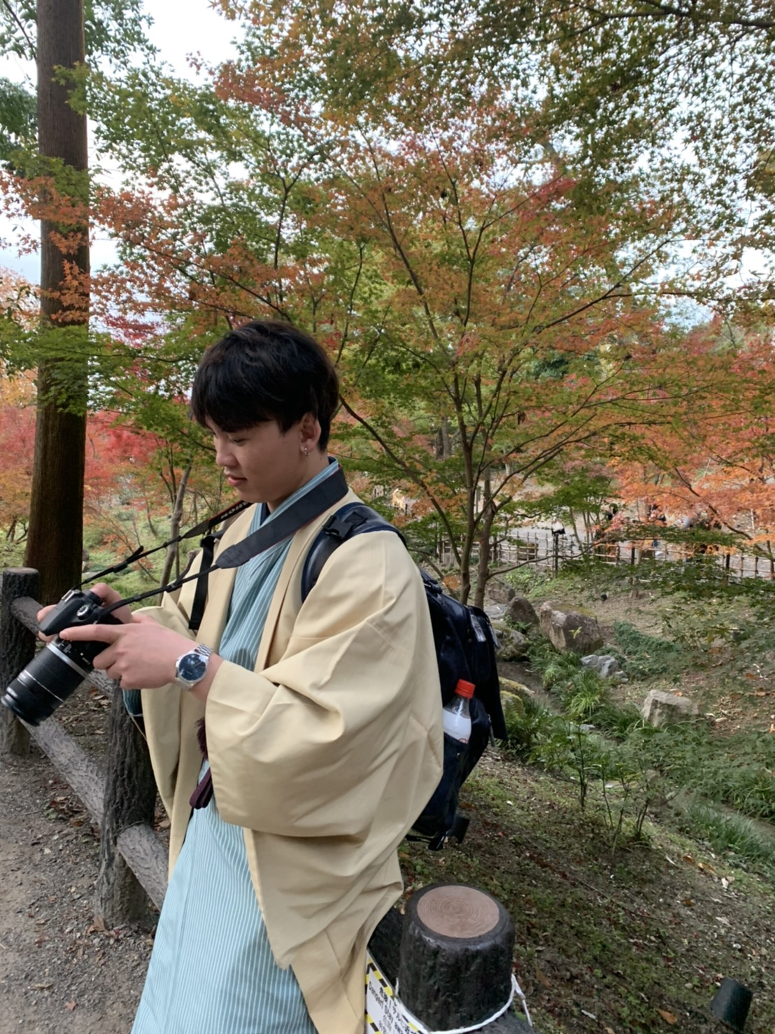 カップルで紅葉巡り♡2019年11月27日17