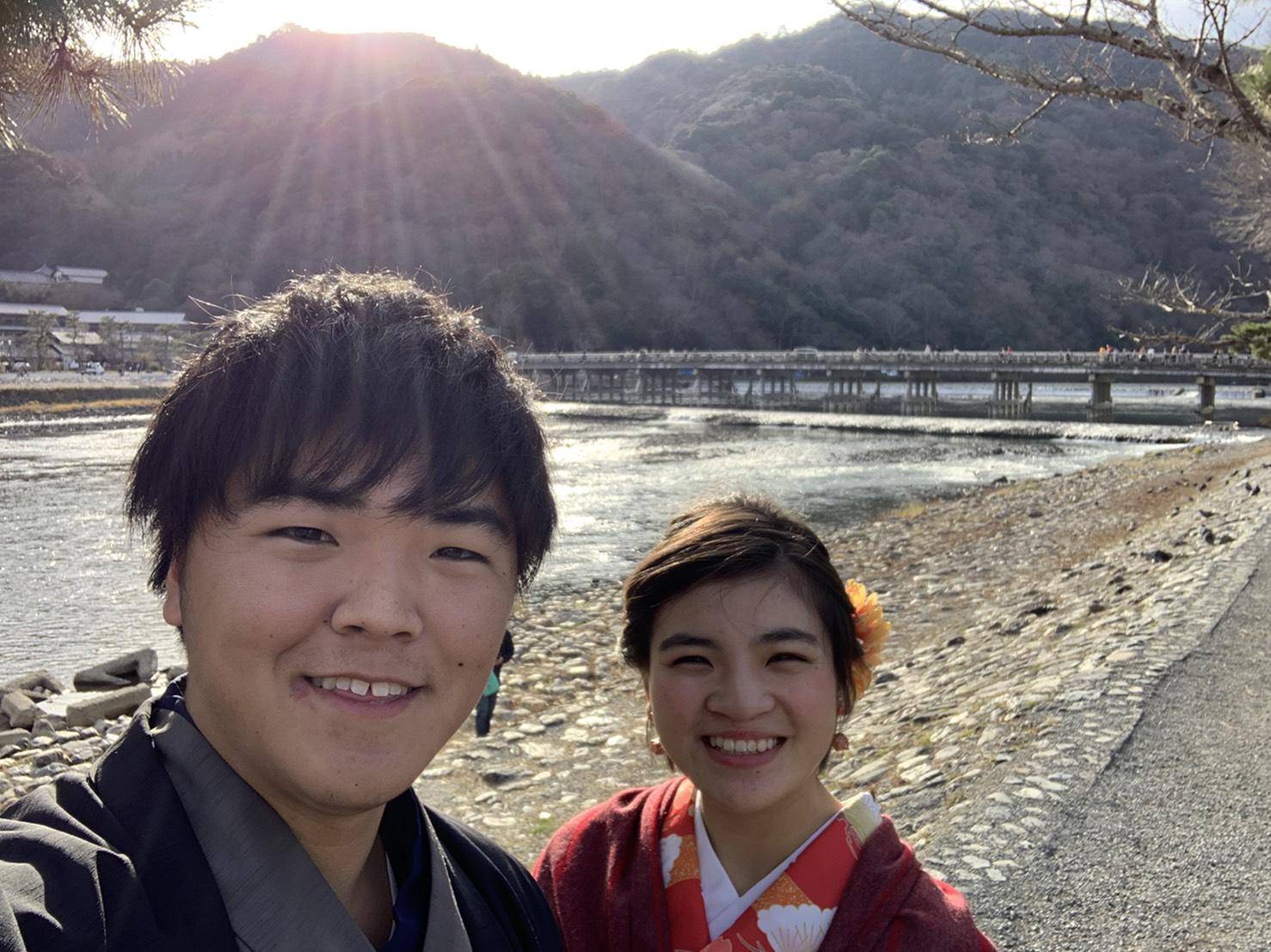 着物で東映太秦映画村へ2019年12月24日2