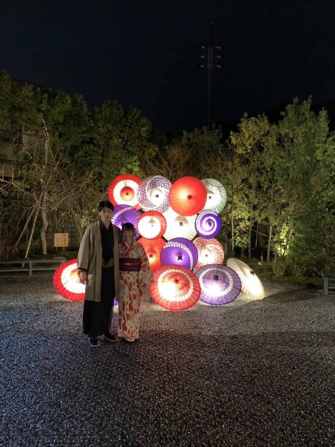 嵐山花灯路2019最終日2019年12月22日1