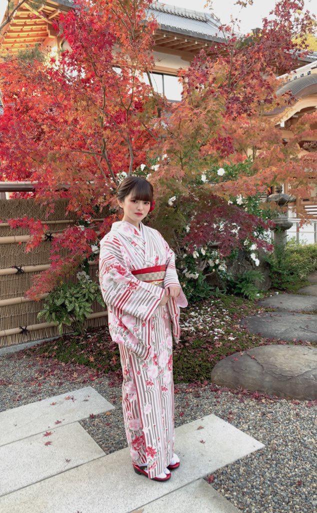 常連様❣着物で京都のカフェ巡り2019年12月9日2